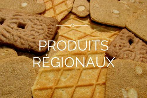 produits régionaux, terrines, carbonnade, gaufres, speculos