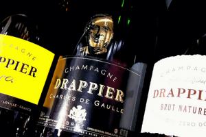 champagnes ruinart drappier krug